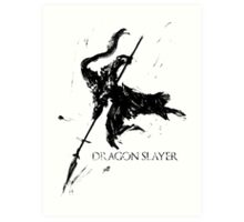 Dragonslayer Ornstein Art Print
