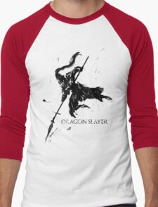 Dragonslayer Ornstein Men's Baseball ¾ T-Shirt