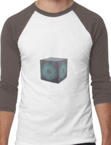 3d model of pandorica Men's Baseball ¾ T-Shirt