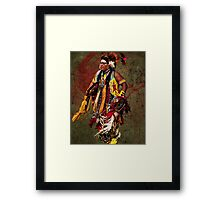 Thunder Chief Framed Print