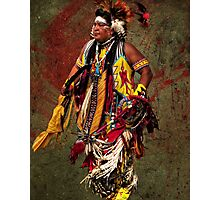 Thunder Chief Photographic Print