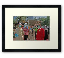 h1n1 and the ISA Framed Print