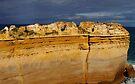 Coastal Cliffs by Paige