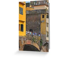A Bridge across the Arno Greeting Card
