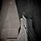 Kiss of the Betrayer, La Sagrada Familia by Gaudi, Barcelona by Gayan Benedict