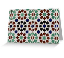 Color Tiles Greeting Card