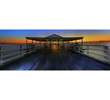Shorncliffe Pier. Brisbane Australia. Photographic Print