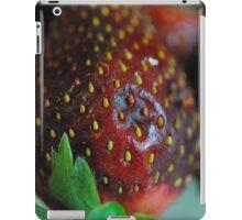 Strawberry Close Up iPad Case/Skin