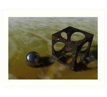 Rust Illusion Art Print