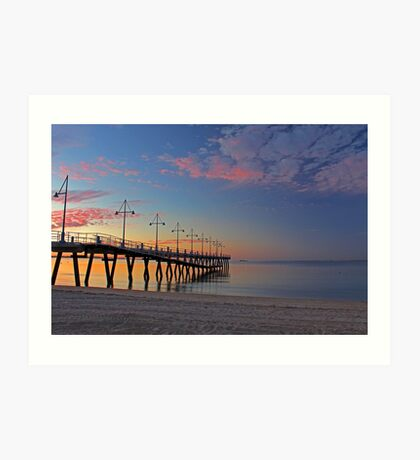 New Rockingham Jetty  Art Print