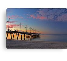 New Rockingham Jetty  Canvas Print