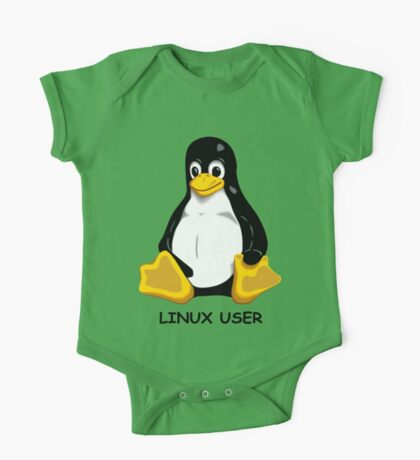 Linux User One Piece - Short Sleeve