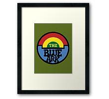 The Blue Ark Radio Station Framed Print