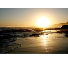Johanna Beach Sunset V Photographic Print