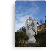 ANGEL SCULPTURE COLOMBIA Canvas Print
