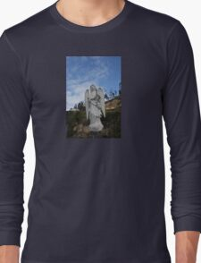ANGEL SCULPTURE COLOMBIA Long Sleeve T-Shirt