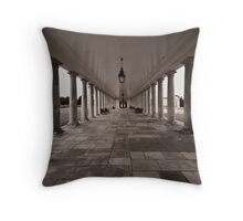 Columns Throw Pillow