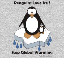 Penguins Love Ice! by Paul Duckett