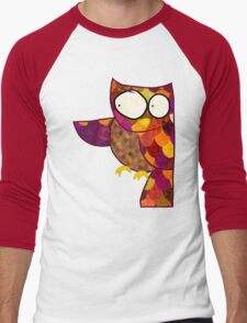 Owl Men's Baseball ¾ T-Shirt
