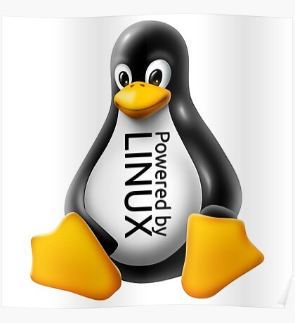 Powered by Linux Poster
