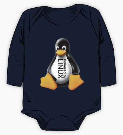 Powered by Linux One Piece - Long Sleeve