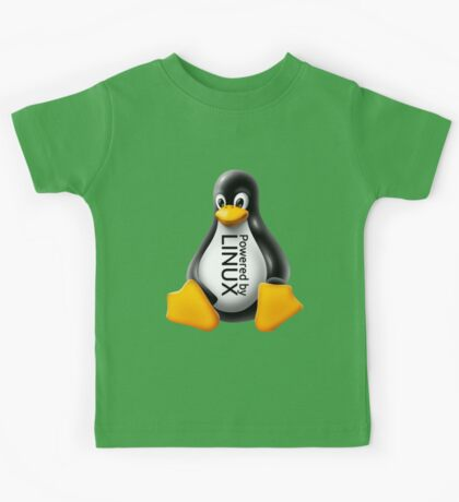 Powered by Linux Kids Tee