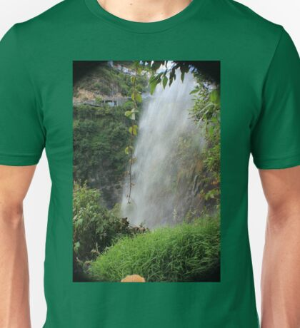 COLOMBIA WATERFALL Unisex T-Shirt