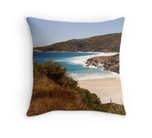 Lovely Lowlands Beach Throw Pillow