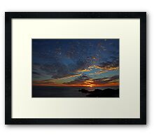 Point Peron - Western Australia  Framed Print