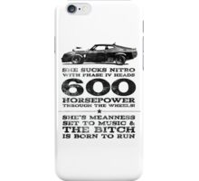 Mad Max Pursuit Special aka The Interceptor iPhone Case/Skin