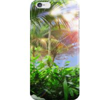 Streaming Hawaiian Sunlight Landscape iPhone Case/Skin