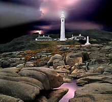 Point Hicks Lighthouse by Ern Mainka