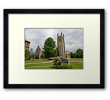 Williams College Cathedral Framed Print