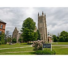 Williams College Cathedral Photographic Print