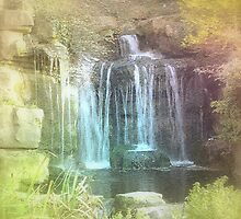 Fairytale Waterfall  by Catherine Hamilton-Veal  ©
