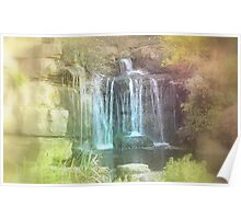 Fairytale Waterfall  Poster