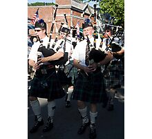 Bag Pipers Four Photographic Print