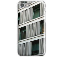 Artful Window Shades iPhone Case/Skin