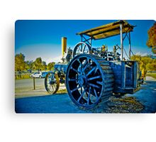 Old Tractor HDR Canvas Print