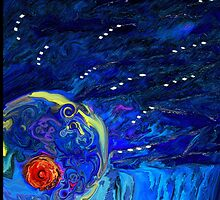 Cosmic Nipple in the Corner of my Bedroom by Sarah Curtiss