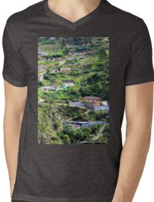 Rural scenery Colombia Mens V-Neck T-Shirt