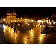 Central Square,Cuzco Photographic Print