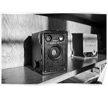 Vintage Kodak Brownie Target Six-16  Poster