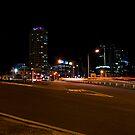 Brisbane at night by davecourt