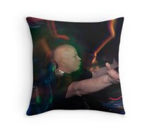 Unleashing the Fury Throw Pillow
