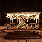 Christmas Gazebo by Deborah Austin