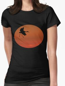 Walking on Air Womens Fitted T-Shirt
