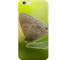 Hairy Lined Blue iPhone Case/Skin