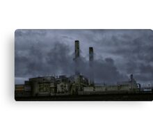 GOTHAMS POWER CO. Canvas Print