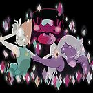 The Crystal Gems by IamSare